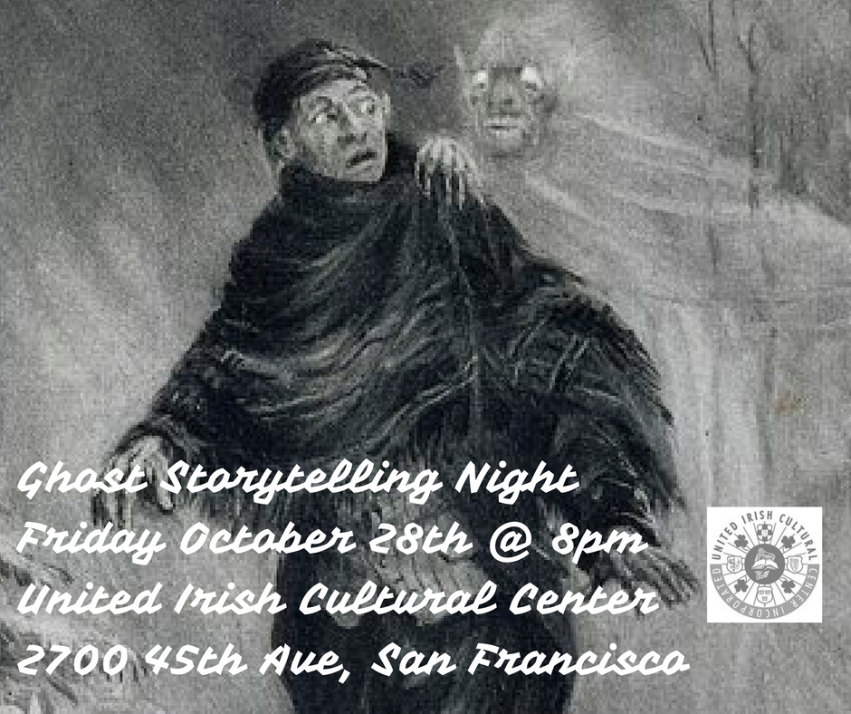 Ghost storytelling at the United Irish Cultural Center