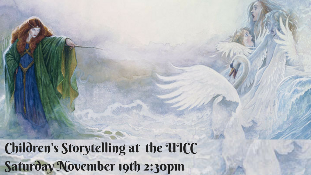 storytelling for children at the UICC