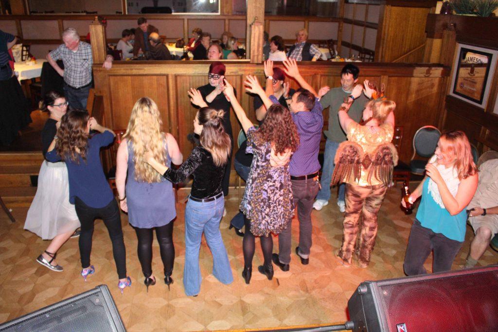 Samhain disco at UICC